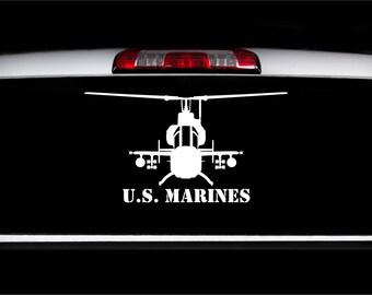 U.S. Marines AH-1Z Viper Front Decal