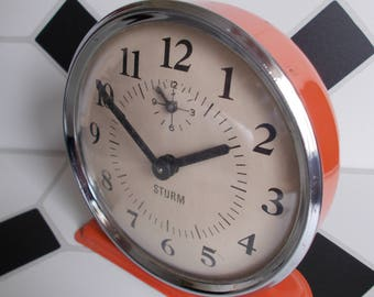 Wind Up Alarm Clock Etsy
