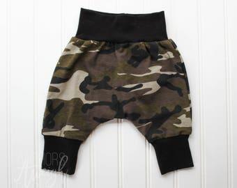 Camo Harem Pants