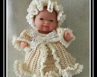 Little poppet marquise crochet attire