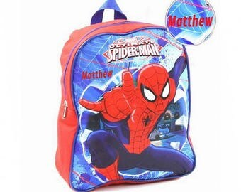 """Personalized Spider Man Homecoming Mini Backpack - 12"""""""