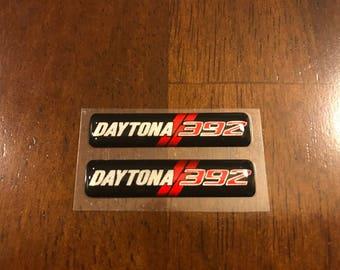 Daytona 392 Charger keyfob badges (set of 2)