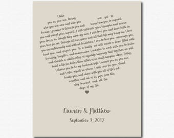 1 Year Anniversary Gift For Her Year Anniversary For Her Personalized Anniversary Gifts for Wife Unique Engagement Gift for Husband Print