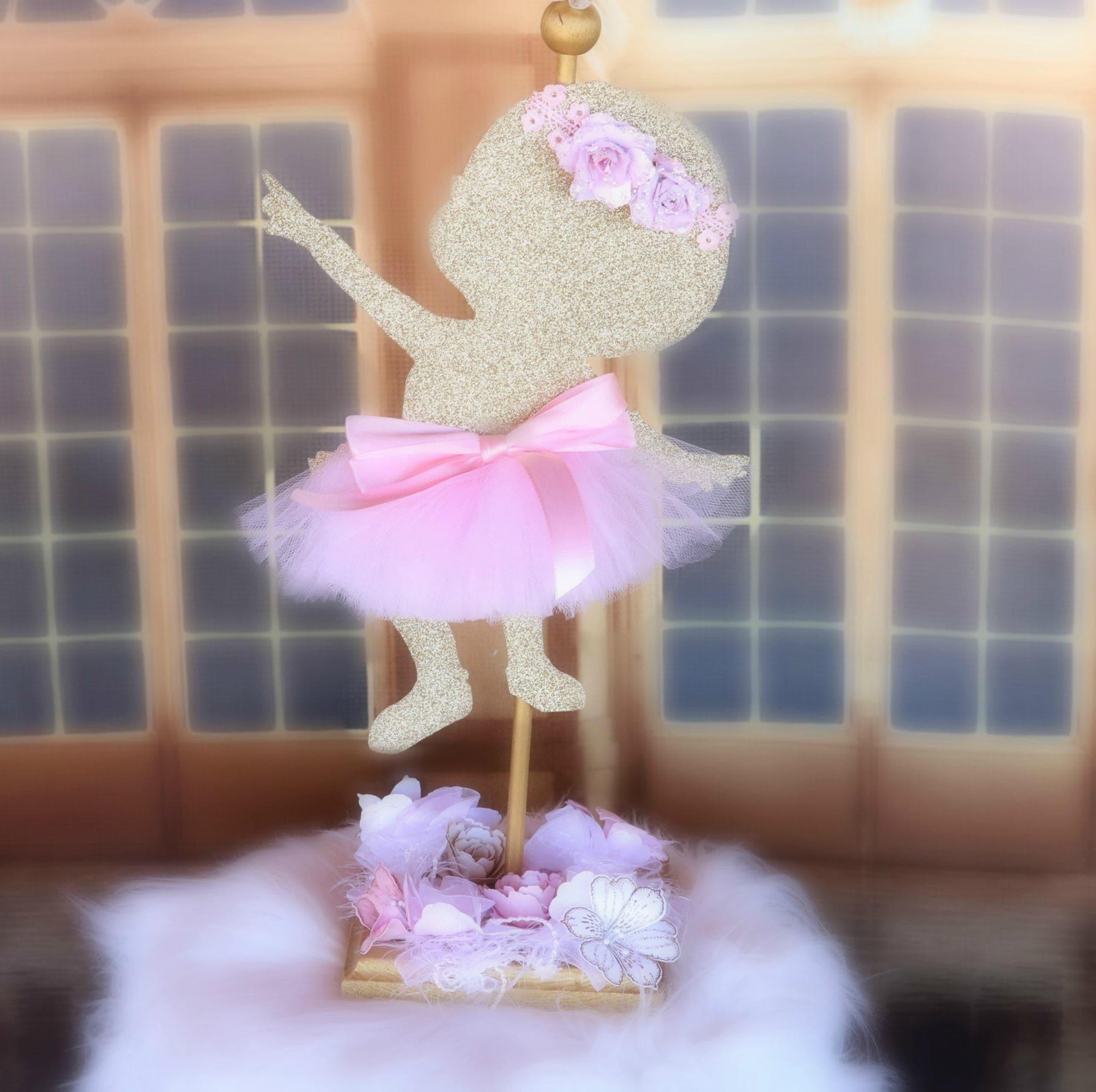 Ballerina, Baby Girl Ballerina Centerpiece, Baby Shower Decorations, Girl  Birthday Party, Ballerina
