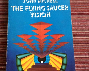 Flying Saucer Book,UFO Book,Paranormal Book,UFO,Ufo Sighting,Extraterrestrial,Flying Saucer,Phenomena Book,Extraterrestrial Book,ET Book
