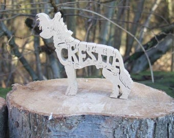 Chinese Crested Dog, Chinese Crested jigsaw, Chinese Crested gift,  gift for dog lovers, Chinese Crested ornament, Cresti, Cresti gift