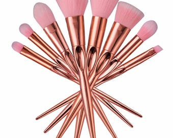 Makeup brushes 8pc