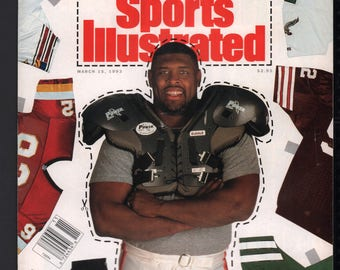 Vintage Magazine - Sports Illustrated : March 15 1993 - Reggie White