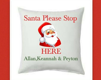 Personalised Christmas Cushion Cover