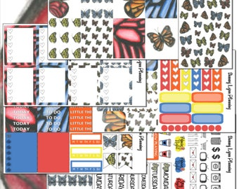 Butterfly Weekly Kit - EC Vertical/EC Horizontal/Happy Planner
