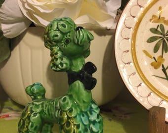 Vintage porcelainPrissy Poodle.