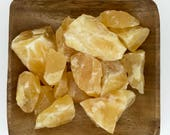 Orange Calcite Raw Large - Natural Orange Calcite - Sacral Chakra - Reiki - Energy Healing - Crystal Healing - 2nd Chakra