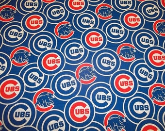 Chicago Cubs Lampshade Cover, Matching Night Light, Matching Switchplates