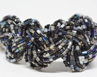 Lovely multi strand beaded bracelet