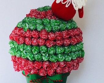 Christmas Lollipop Bouquet - Santa Edition