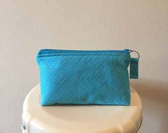 Medium Zipper Pouch/Makeup Pouch/Cosmetic Pouch