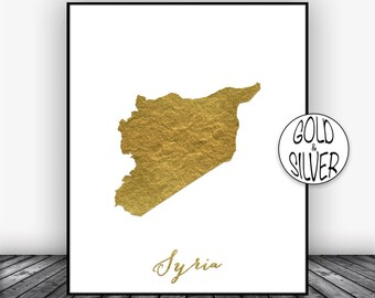 Syria Print, Syria Art Print, Home Decor Syria Map Art Wall Art Decor, Home Wall Decor, Living Room Decor, Wall Prints,, Christmas Gifts