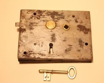 Vintage Carpenters Rim Lock