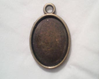 1 pendant antique bronze - 1 051 support