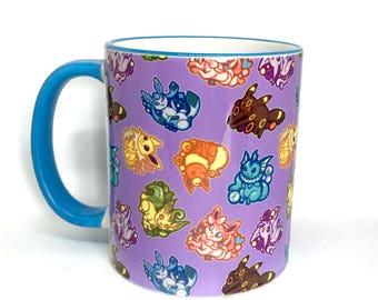 Eeveelutions 11oz Ceramic Mug