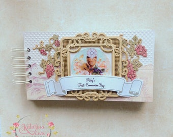 First Communion Photo Album - for girl