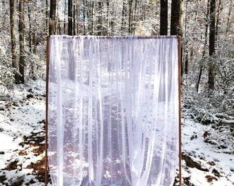 Wedding Backdrop Stand Copper Ceremony