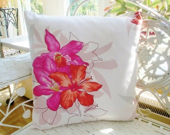 Pillowcase of flowers