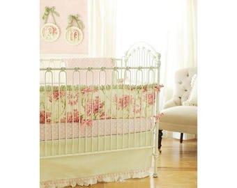 Roses for Bella Baby Bedding Set