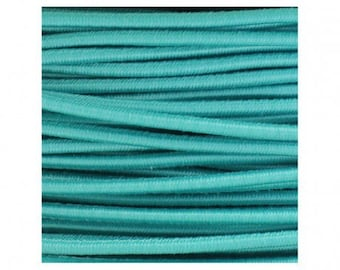 Elastic round cord, 2, 5 mm Green
