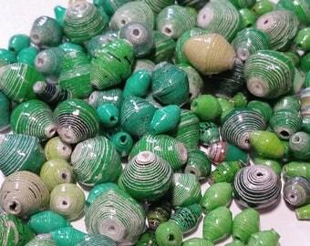 Fair Trade Paper Bead Mix 2