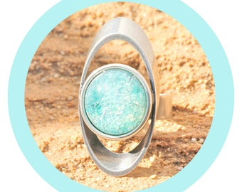 artjany ring mint patina