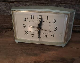 Vintage Alarm Clock, General Electric Clock, Vintage Clock, Retro Clock