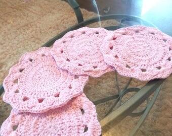 Enchanted Crochet Cup Coasters