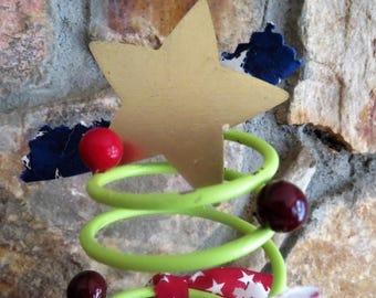 Patriotic Spring Christmas Tree