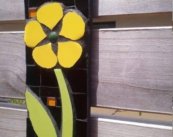 Outdoor mosaic, garden art, home decor, mothers day gift.