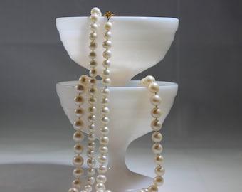 Vintage Hazel Atlas Moderntone Milk Glass Stemmed/Footed Sherbets/Sherberts