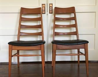 Heywood Wakefield Ladder Back Chairs