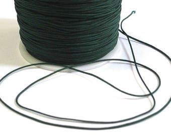 5 m thread dark green nylon 1 mm