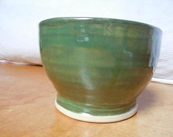 Green Serving Bowl