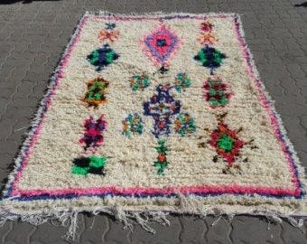 Lovely azilal rug