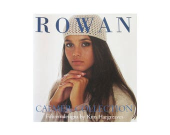 Rowan Knit Pattern Book, Calmer Collection by Kim Hargreaves Shells, Socks and Sweaters, See Photos, Paperback Published 2002, 45 Pages
