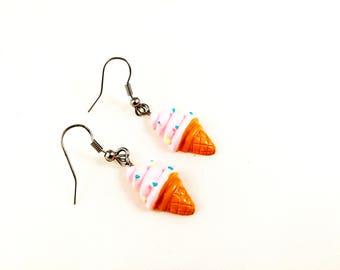 Summer Ice Cream Sweet Earrings For Her Women Jewelry Summer Ice Cream Treats For Her