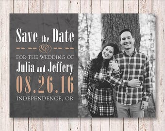 Save the Date - 5x7in - Printable
