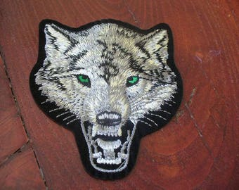 WOLF BADGE PATCH