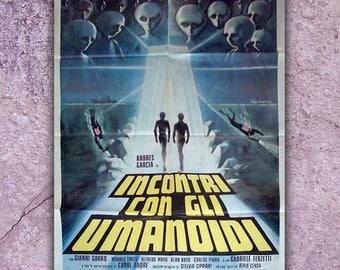 Original Movie Poster Encuentro En El Abismo Size: 100x140 CM