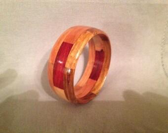 """Segmented bracelet #43: size small (inside diameter 2 3/8"""")"""