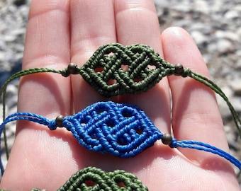 Macrame Bracelet Infinite Celtic knot