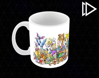 Original 151 Pokemon 11oz Coffee Mug