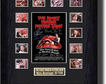 The Rocky Horror Picture Show film cell (1975) CAST SIGNED orginal filmcell