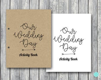 wedding activity book and coloring foro kids wedding kids table activities wedding kid coloring